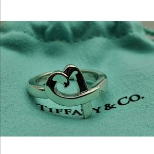 Authentic Tiffany's Paloma Picasso heart ring